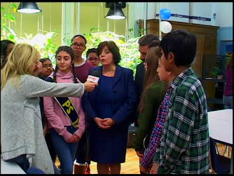 AKTINA TV Report: New Science Lab Celebrated at PS122 With Councilman Constantinides