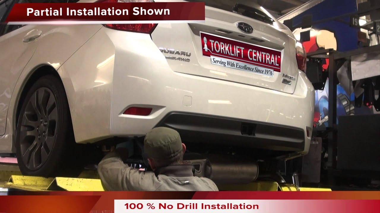 2012 Subaru Impreza Hatchback InvisiHidden Ecohitch Trailer Hitch