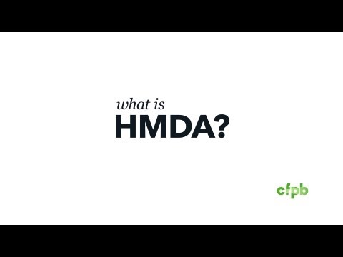 What Is HMDA?