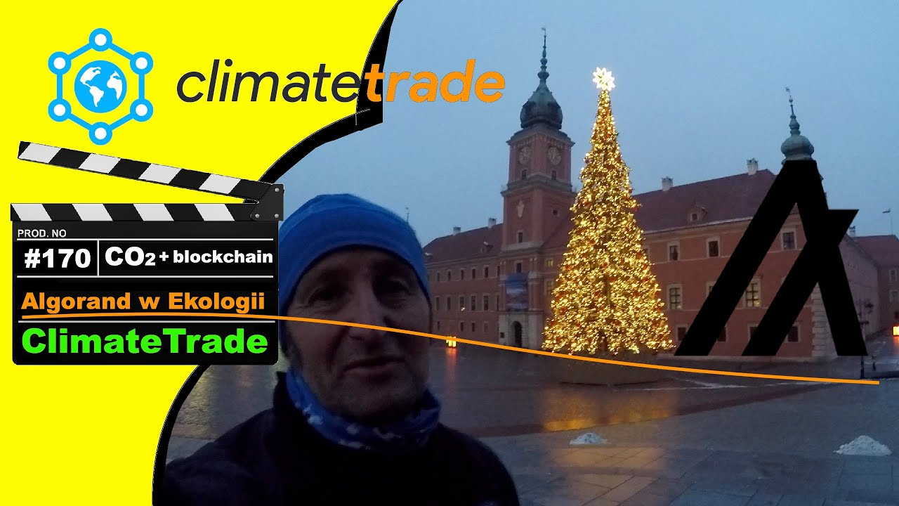 ?ClimateTrade: Handlujemy Dwutlenkiem Węgla przez Blockchain Algorand
