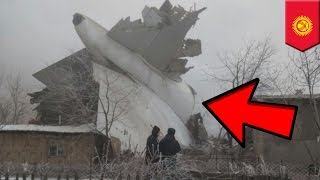 Plane crashes into buildings while landing in fog in Kyrgyzstan, dozens killed   TomoNews