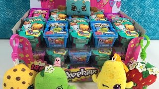 Shopkins Palooza Season 1 2 3 Full Box 2 Pack Blind Baskets Unboxing