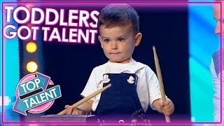 Most Talented Kids Do Toddlers Got Talent | Top Talent
