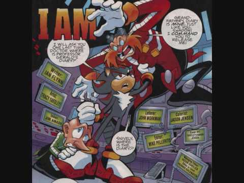 Sonic The Hedgehog Comic 171 Youtube