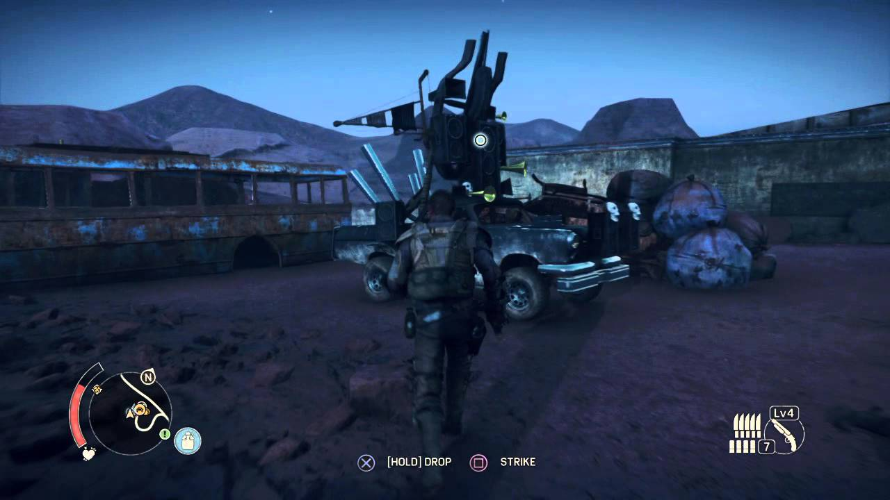 Mad Max Crow Dazzles Car Night Only Youtube