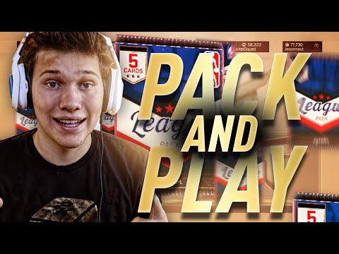 INTENSE NBA 2K17 PACK AND PLAY WAGER!!