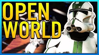 OPEN WORLD STAR WARS GAME COMING - Star Wars Game News!