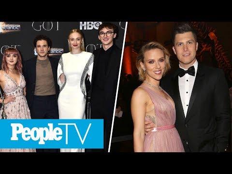 Scarlett Johansson & Colin Jost Newly Engaged Recap Of Last Night&39;s &39;GoT&39; Finale  PeopleTV