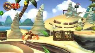 Guia Donkey Kong Country Return Pc Mundo 2 Playa Niveles 2-1, 2-2, 2-3, 2-4