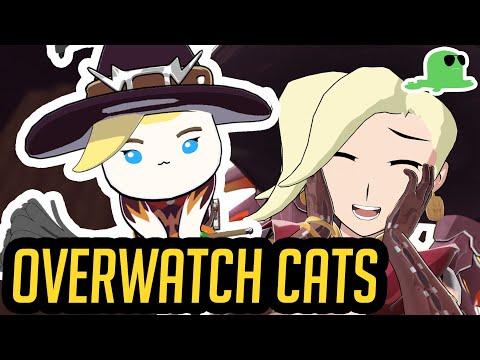 A Katsuwatch Halloween! - Overwatch Cats