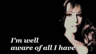 Mariah Carey - Looking in (lyrics)