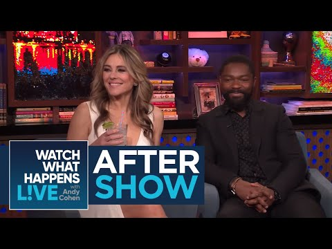 After : Why Elizabeth Hurley's Son Takes Her Bikini Shots  WWHL