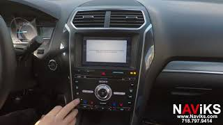 2018 Ford Explorer SYNC 3 NAViKS Motion Lockout Bypass: NAV In Motion