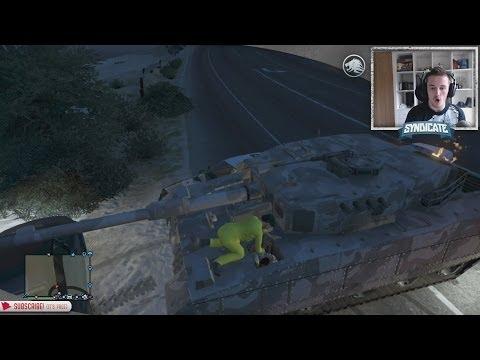 Grand Theft Tank! - Grand Theft Auto 5