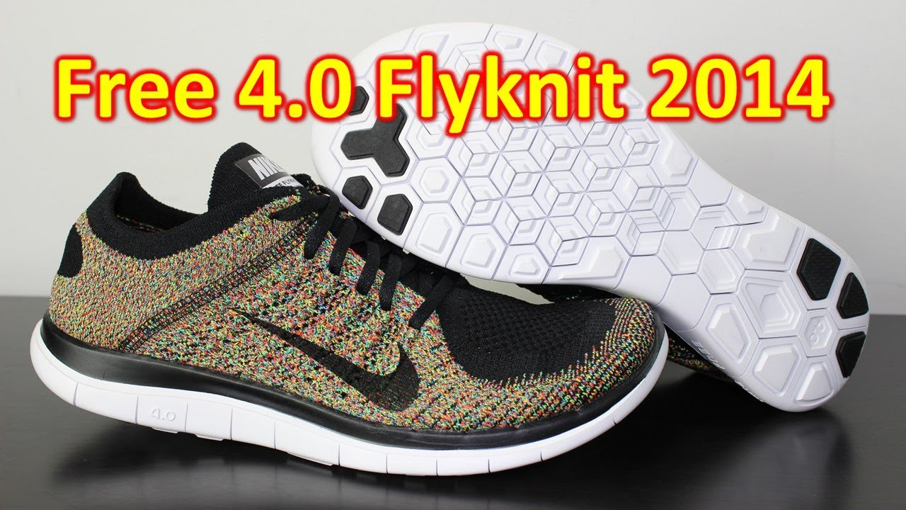 timeless design 5e091 dcfa6 Nike Free 4.0 Flyknit 2014 Multicolor - Review + On Feet