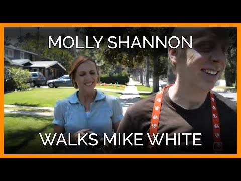Molly Shannon Walks Mike White, and They Help Dogs Everywhere