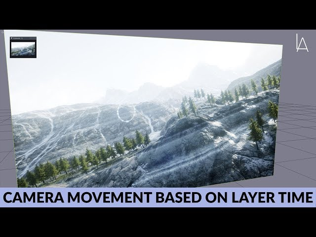 UE4 Camera Movement based on Lightact Layer Time | Lightact