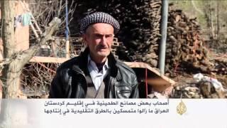 طرق تقليدية لإنتاج الطحينية بكردستان العراق