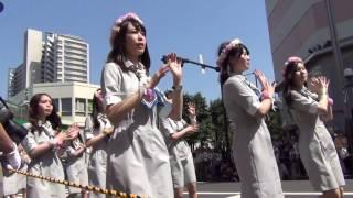 赤羽馬鹿祭り'17 パレード 城北信用金庫