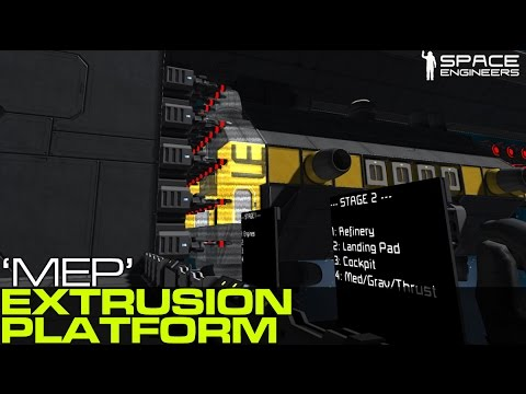 Space Engineers - Modular Extrusion Platform - Multi Ship Projection System
