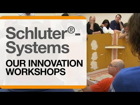 Schluter®-Systems: Our Innovation Workshops