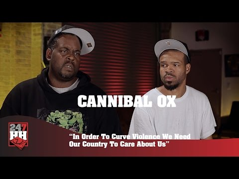 Cannibal Ox - In Order To Curve Violence We Need Our Country To Care About Us (247HH Exclusive)
