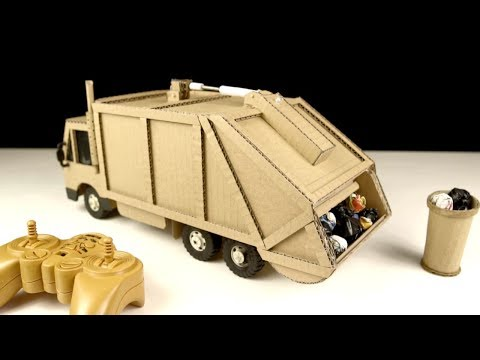 How to make Garbage Truck - Amazing Truck Toys