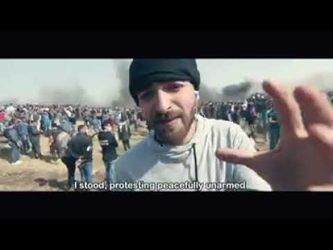 Rapper from Palestine produces his video clip over the real