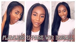 U-Part Wig Install - How to blend Natural Hair with Virgin Hair ft MsLula.com| Simply Subrena