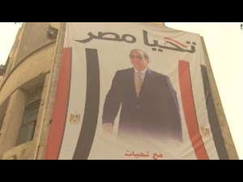 election Egyptian 2018 - Egyptian  president runs with little contest