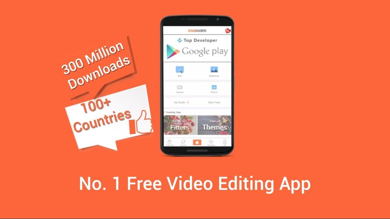 Google themes editor - Vivavideo Google Play Preview Video Best Video Editor App