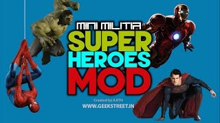 Mini Militia Super Hero Mod - GEEK STREET