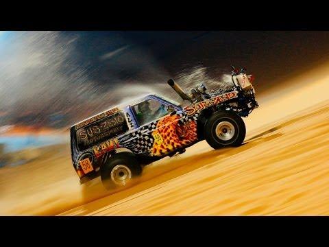 Liwa. Moreeb Dune 2014 winner. (Uphill sand race)