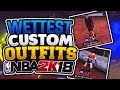 """WETTEST CUSTOM OUTFITS + SHOES IN NBA 2K18!!💦 """"DRIBBLE GOD EDITION"""" CLEANEST IN THE PLAYGROUND! mp3"""