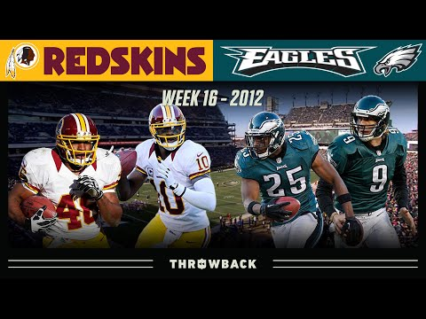 [NFL Throwback] Race for the NFC East (Washington at Philadelphia, 2012 Week 16)