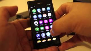 Nokia N9 video reseña