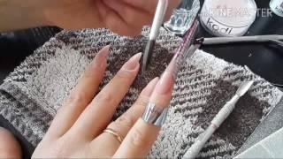 як зробити свої нігті гострими