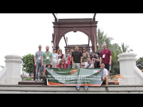 Jakarta Heritage Trails: University of Washington - 2016