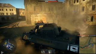 War Thunder - Unexpected Ammo-Rack Blast (Video Clip)