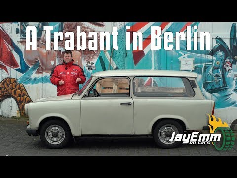Driving Berlin in a Trabant  - The East German Communist Car