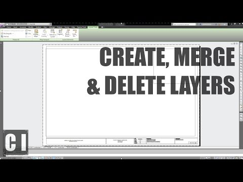 AutoCAD Layer Tutorial: How To Create, Merge, Delete & Change Layers