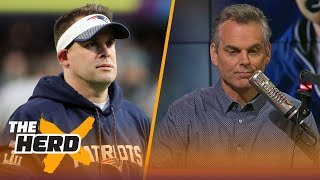 Colin Cowherd reacts to Josh McDaniels backing out of the Colts coaching job | THE HERD