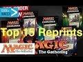 Top 15 REPRINTS in Commander 2016 - Magic the Gathering