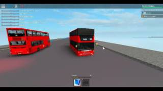Roblox London Hackney & Limehouse bus Simulator Scania Omnicity (Double Decker) Stagecoach Route 205