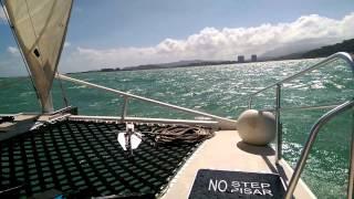 Salty Dog Catamaran in Puerto Rico