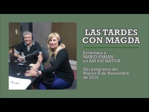 Las tardes con Magda Mario Fabián en AM 930 Nativa 08 11 2016