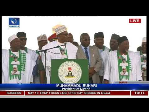 Pres Buhari Inaugurates Social Investment Programme In Jigawa Pt.5 |Live Coverage|