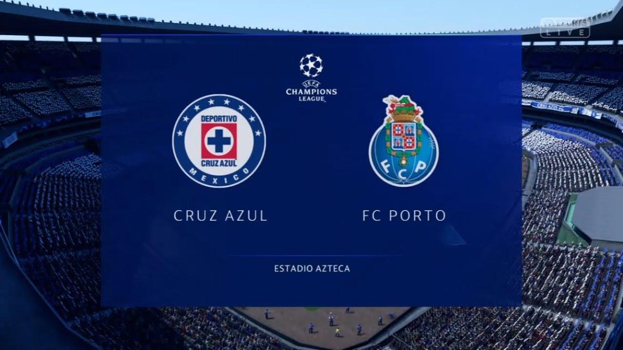 FIFA 19 | Modo Carrera | Cruz Azul v FC Porto | UEFA Champions ...