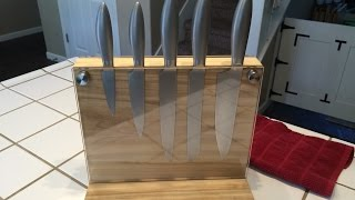 BUILD: Magnetic Knife Block