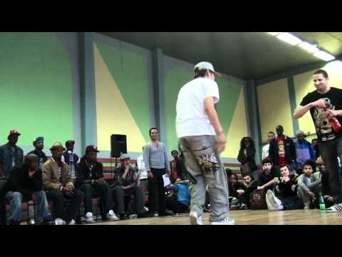 Who Is Who Underground Battle 2011 Paris - final popping : TF STAR ( Viet Nam ) vs Pimoh ( Paris )
